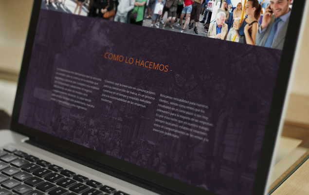 Diseño Web GM Group